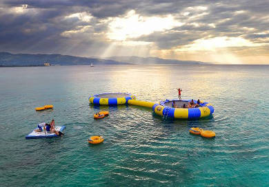 Water Trampoline vs Water Bouncer: What's the Difference?
