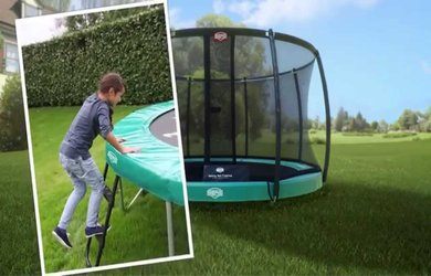 in ground trampoline vs above ground trampoline 2018 trampoline first. Black Bedroom Furniture Sets. Home Design Ideas
