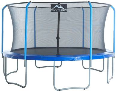 Merveilleux The Skytric Trampoline With Top Ring Enclosure System