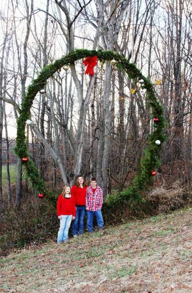 Giant Christmas Wreath